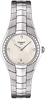 tissot Women's Cream Dial Stainless Steel Band Watch - T096.009.61.116.00