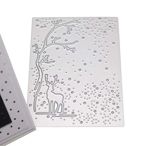 sitonelectic Stanzschablone aus Metall für Scrapbooking, Album, Stempel, Papier, Karten, Prägung, Dekoration, Basteln