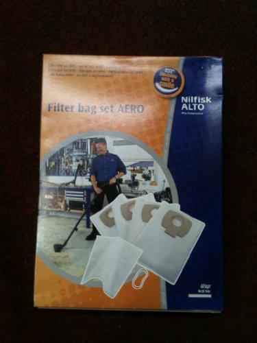 Genuine Nilfisk Alto Dustbags & filter for Aero series machines - WAP KEW by Nilfisk