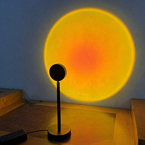 Arco iris Planta de proyección Luz LED Rainbow Proyección de proyección Lámpara moderna giratoria