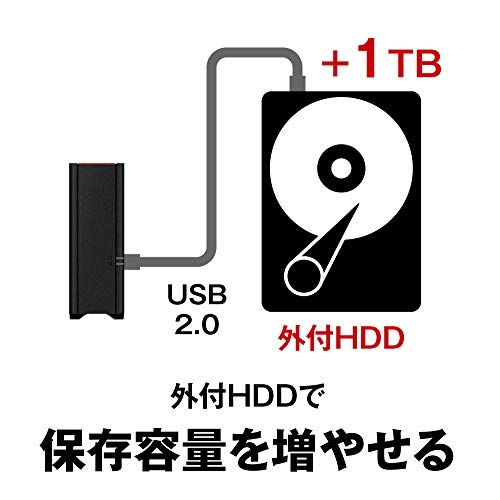 BUFFALO(バッファロー)『LS210DNシリーズLS210D』