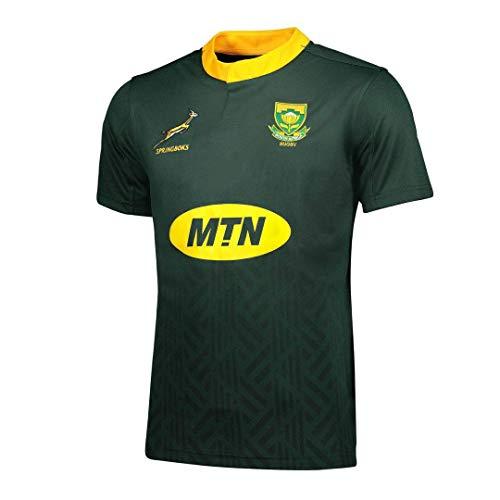 Mempire Camisas De Rugby para Hombres Sudadera De Rugby De SudáFrica Ropa Deportiva De Ajuste Regular