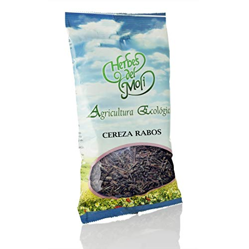 Herbes Del Moli - Pack Ahorro De 6 Bolsas X Cereza, Rabos 50 Grs. - Hierbas Naturales Tradicionales