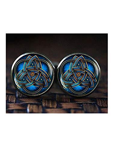because meet you Blue Triquetra Cufflinks, Celtic Triangle Cufflinks, Celtic Knot Cufflinks, Celtic Cufflinks, Trinity Knot Art Cufflinks