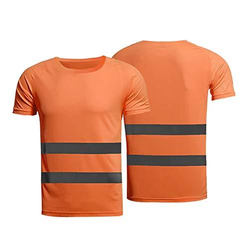 Leezo L'alta visibilità della maglietta riflettente della maglietta di sicurezza riflettente completa l'ingranaggio sicuro per il cantiere