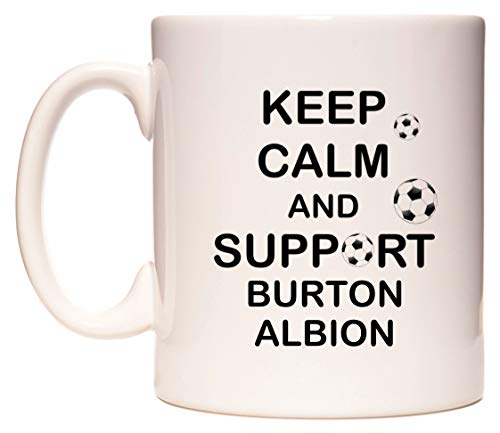Keep Calm and Support Burton Albion Mug Cup by WeDoMugs