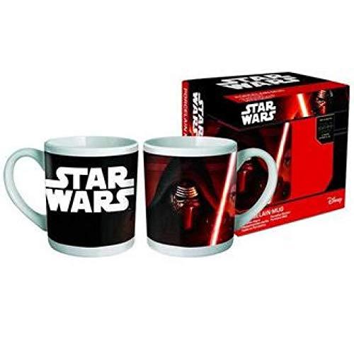 Disney SW-STW28-18KCECBZ - Star Wars Tasse Darth Vader Porzellan in Geschenkverpackung
