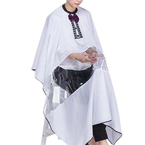 Coiffure robe en tissu Wrap protéger les cheveux de coupe Cape Hair Design Tablier Haircut