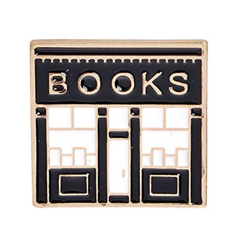 Anstecknadel, niedliches Dialog-Box, Buch, Emaille, Anstecknadel, Anstecknadel, Anstecker, Damen, Accessoire, Schmuck – 1#