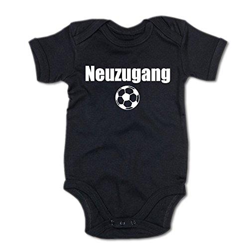 G-graphics Neuzugang Baby Body Suit Strampler 250.0128 (3-6 Monate, schwarz)