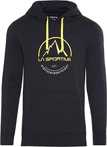 LA SPORTIVA Logo Hoody Sweatshirt mit Kapuze, Herren S Schwarz - (Black)