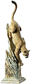 Leap of Faith Cougar Sculpture by Joe Slockbower