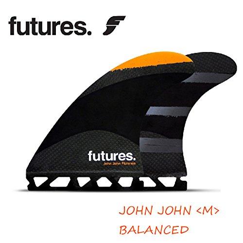 FUTURE FINS フューチャーフィン RTM T/FLEX JOHN JOHN (M) ORANGE ジョンジョン BALANCED (Center Fin: Height: 4.56 in Base: 4.45 in)
