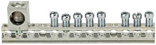 SIEMENS EC1GB82 Ground Bar Kit with 8 Terminal Positions and a Ground Lug