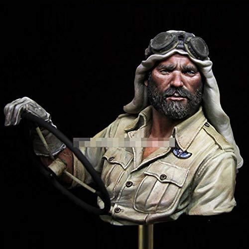 CHOUDOUFU Estatua Escultura Adorno 1/10 Kit De Modelo De Busto De Resina British SAS Sin Montar