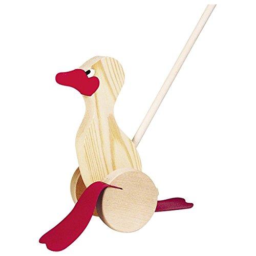 Legler - 2020009 - Jouet pour Poussette - Le Canard Dandinant