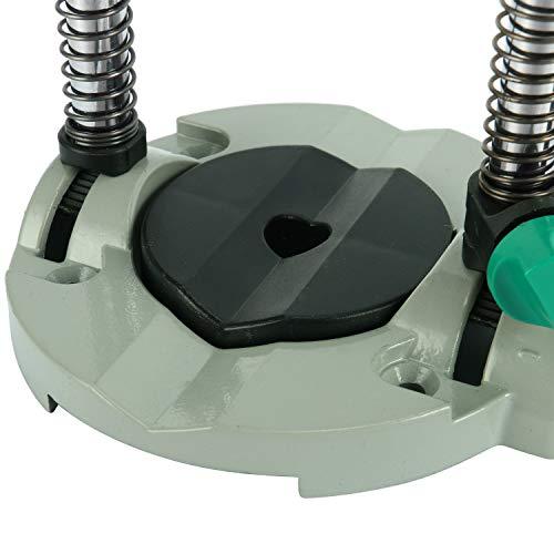 YaeTek 0-45 degree Adjustable Angle Drill Stand, Portable Drill Press Drill Guide, Mobile Drill Stand