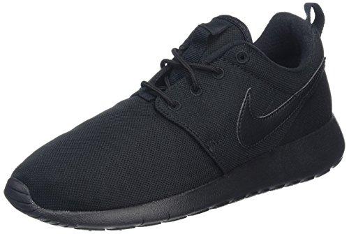 Nike Toddlers' Roshe One (TDV) Black Fabric Running Shoe 5