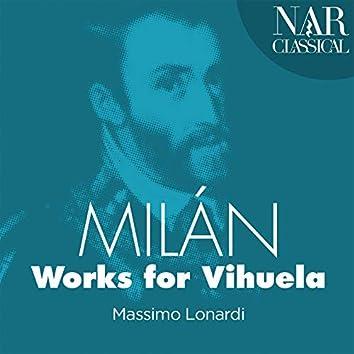 Milán: Works for Vihuela