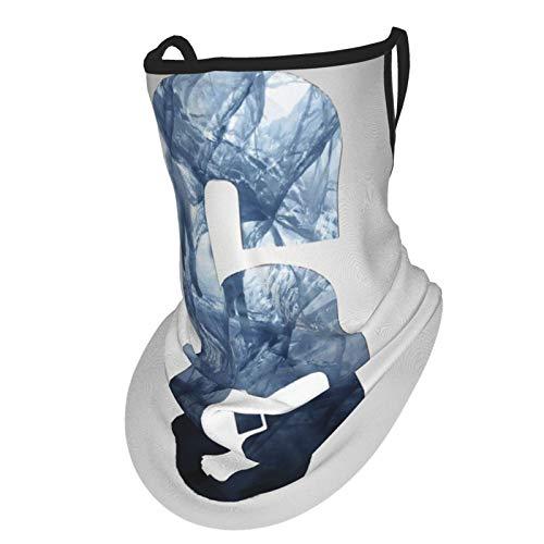Ra-Inbow Si-X Si-Ege Sommer UV-Schutz Gesicht Kleidung Hals Gamasche Schal Sonnenschutz Atmungsaktives Bandana mit Ohrschlaufen - Bandana