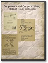Copperwork and Coppersmithing Historic Book Collection - 7 Instructional Books and Vintage Copper Product Catalogs