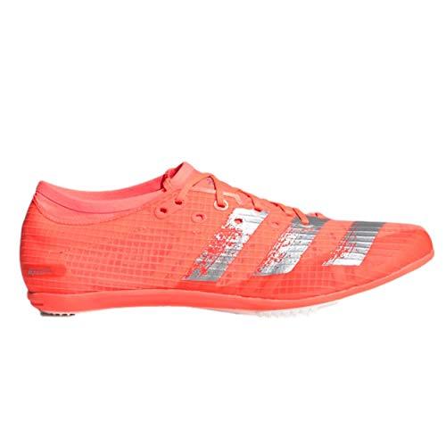 adidas Herren Adizero Ambition M Leichtathletik-Schuh, Signal Coral/White Silver MET./FTWR, 40 EU
