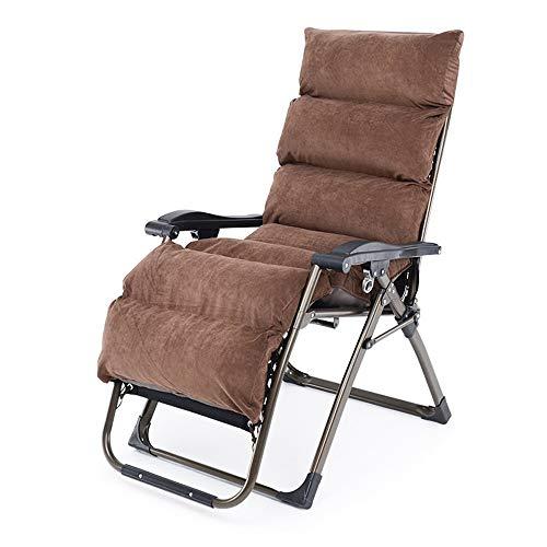 Silla reclinable Zero Gravity con reposacabezas acolchado acolchado, tumbona plegable para acampar al aire libre Garden Beach, tumbona reclinable Comodo/C