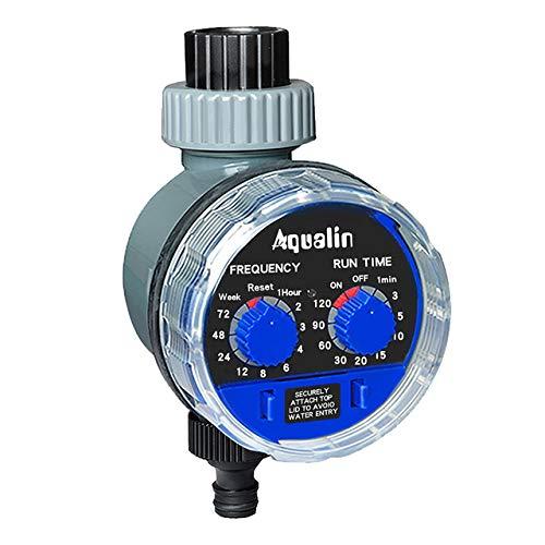 AFFC Tuinirrigatie, timer, kogelkraan, automatische elektronische watertimer, huistuin, irrigatie, timer controller systeem