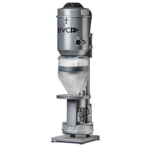 BVC BASIC 4000 Watt ZENTRALSTAUBSAUGER - Ideal für den Einsatz in Industrie und Fertigung, Fahrzeugaufbereitung, Lackiererei, Altenpflegeheimen, kleinen Hotels und anderen gewerblichen Immobilien.