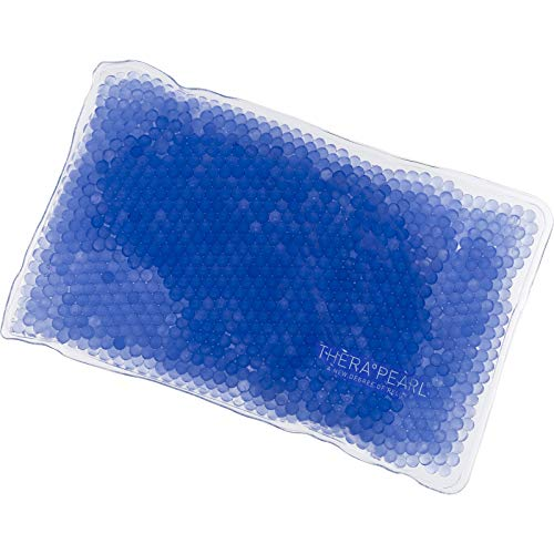 TheraPearl Color Changing Reusable Hot Cold Pack Sports Size Flexible Ice Pack with Gel Beads for Athletes Pain Relief for Arthritis Swelling Sports Injuries Cooling amp Heating Pad