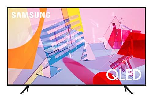 """Samsung TV QE50Q60TAUXZT Serie Q60T QLED Smart TV 50"""", con Alexa integrata, Ultra HD 4K, Wi-Fi, Black, 2020"""