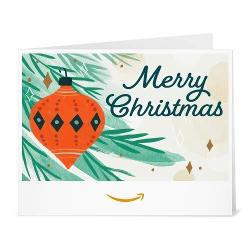 Christmas Ornament - Printable Amazon.co.uk Gift Voucher
