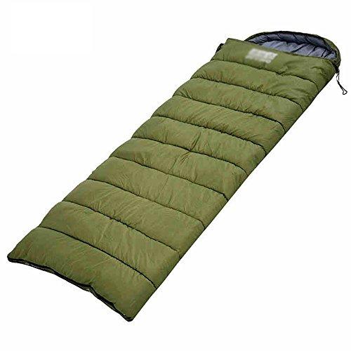 Sacs de couchage Quatre Saisons de Camping en Plein air Adultes étudiants d'automne et d'hiver épais Coton Chaud Pause déjeuner à l'intérieur