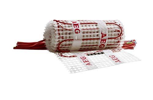 AEG Haustechnik 234701 TBSG S 200/0,8 WE elektrische Fußbodenheizung THERMO BODEN Comfort Wellness, weiß, 0,8 m² / 400 x 20 cm