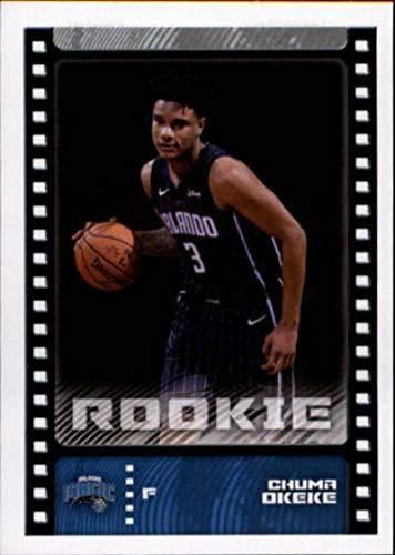 2019-20 Panini Stickers Basketball #249 Chuma Okeke RC Rookie Orlando Magic NBA Basketball Mini Sticker Trading Card (Small & Peelable)