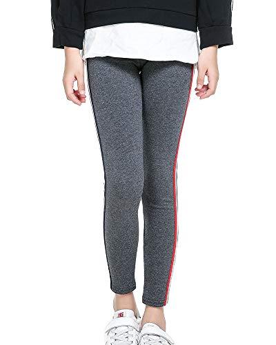 ADEN Kinder Winter Mädchen Leggings Strumpfhosen Beiläufig Sport Elastische Taille Legging Kleidung Hosen(100-150CM)