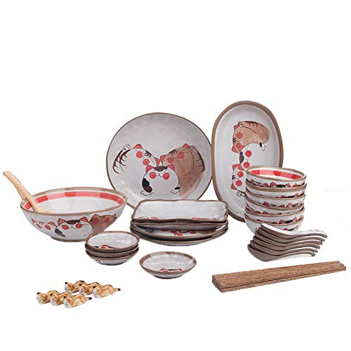 Vajilla De Sushi De Cerámica 12 Piezas Para 4 Personas Juegos De De Porcelana Estilo Japonés