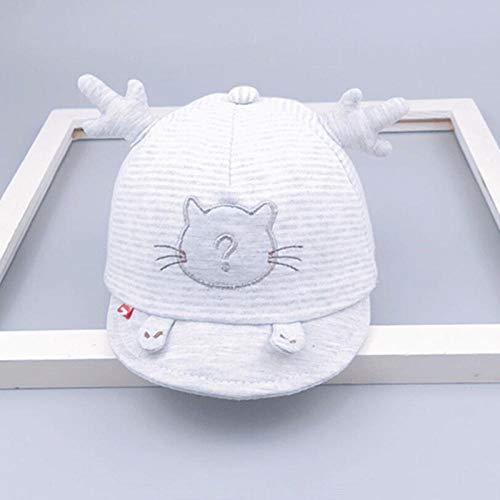 Aibccr Baby Hut Frühling und Herbst Sommer Baby Sonnenhut Neugeborene Kappe 3-6 Monate dünne Sonnenmütze