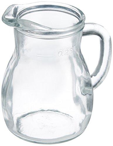 BORMIOLI ROCCO Glaskrug Bistro lt 0.25 Flaschen und Krüge
