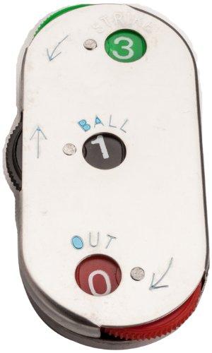 mpowered Baseball DREI Funktion Oval Schiedsrichter Indikator (Metall)