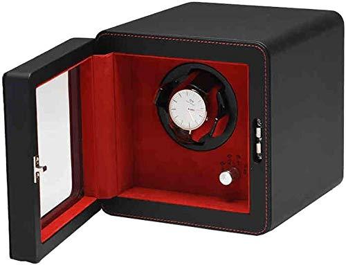 HJJ Uhr-Aufbewahrungsbox/Watch Box - Uhr-Anzeigen-Box Plattenspieler Uhr Schmuck Aufbewahrungsbox Miniuhr Bag Shaker/Betrachtungs-Display-Box
