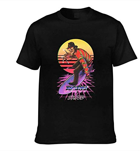 Anime Gam Men'Sa Nightmare On ELM Street Short Sleeve Performance T-Shirt,X-Large