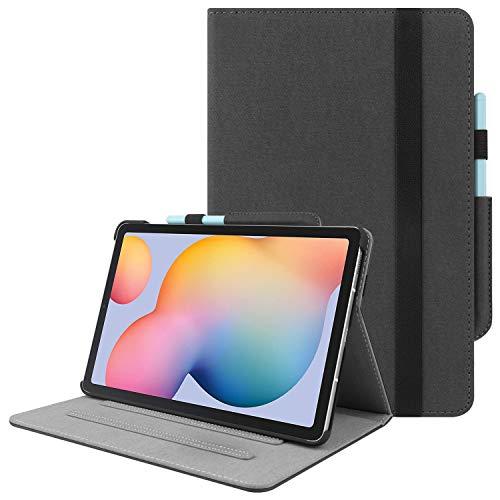 HoYiXi Custodia per Samsung Galaxy Tab S6 Lite 10.4 Pollici 2020 Ultra Slim Case in Pelle Cover con Supporto Funzione Custodia di Tablet per Samsung Galaxy Tab S6 Lite 10.4 SM-P610/P615 2020