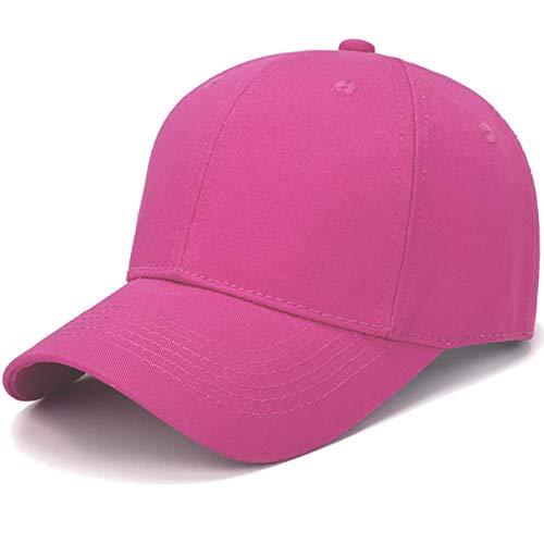 Unisex Señoras Hombres Gorra de béisbol Sombrero para el Sol Gorra Ajustable al Aire Libre de Color sólido