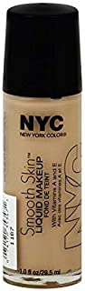 NYC New York Color Smooth Skin Liquid Makeup Barely Beige 678 by N.Y.C.