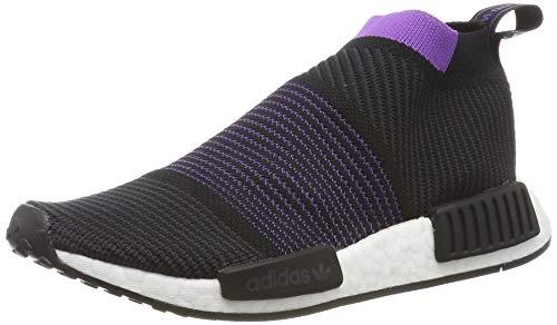 adidas Damen NMD_cs1 Pk W Gymnastikschuhe, Schwarz (Core Black/Carbon/Active Purple), 36 EU