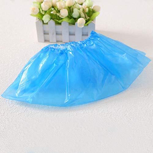 TUOP 100 Stks/Pack Wegwerp Plastic Anti Slip Boot Schoen Cover Plastic Schoen Boot Covers Om Tapijten Vloeren beschermen