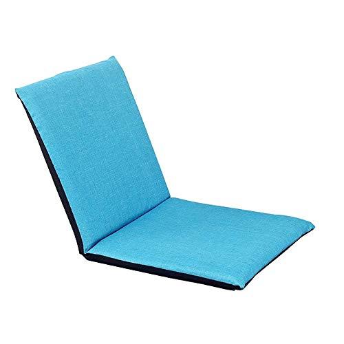 TWDYC Silla Plegable sofá Perezoso Estilo Couch Sofá Camas Tumbona W/Almohada