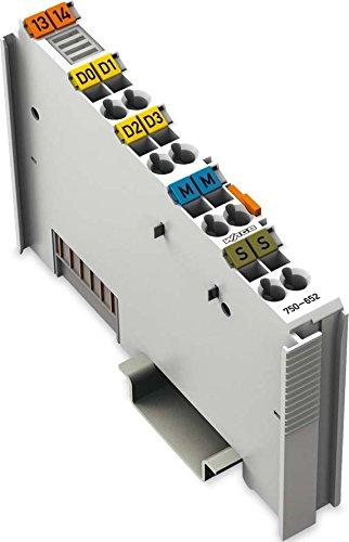 WAGO 750–652interne Serie Karte und Schnittstellen-Adapter–Karten und Adapter von Schnittstellen (Serie, RS-232/485, 115,2Kbit/s, Grau, in 61131–2IEC 60068–2-27, DC)