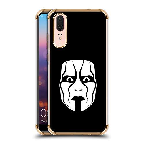 Officiële WWE Het Masker Sting Gold Shockproof Fender Case Compatibel voor Huawei P20